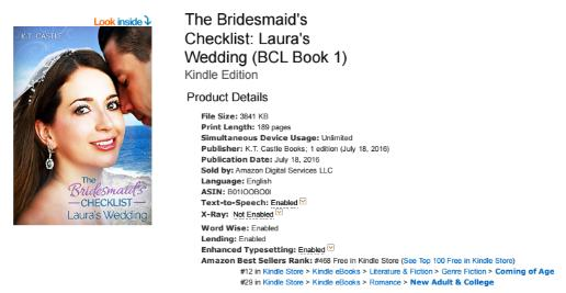 BCL1 Amazon Best Sellers